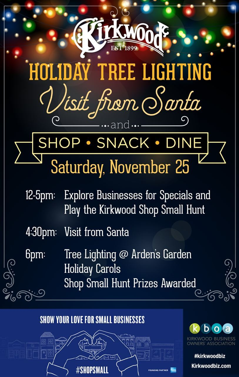 Kirkwood Business Owners Association - Kirkwood Shop Small Hunt ...